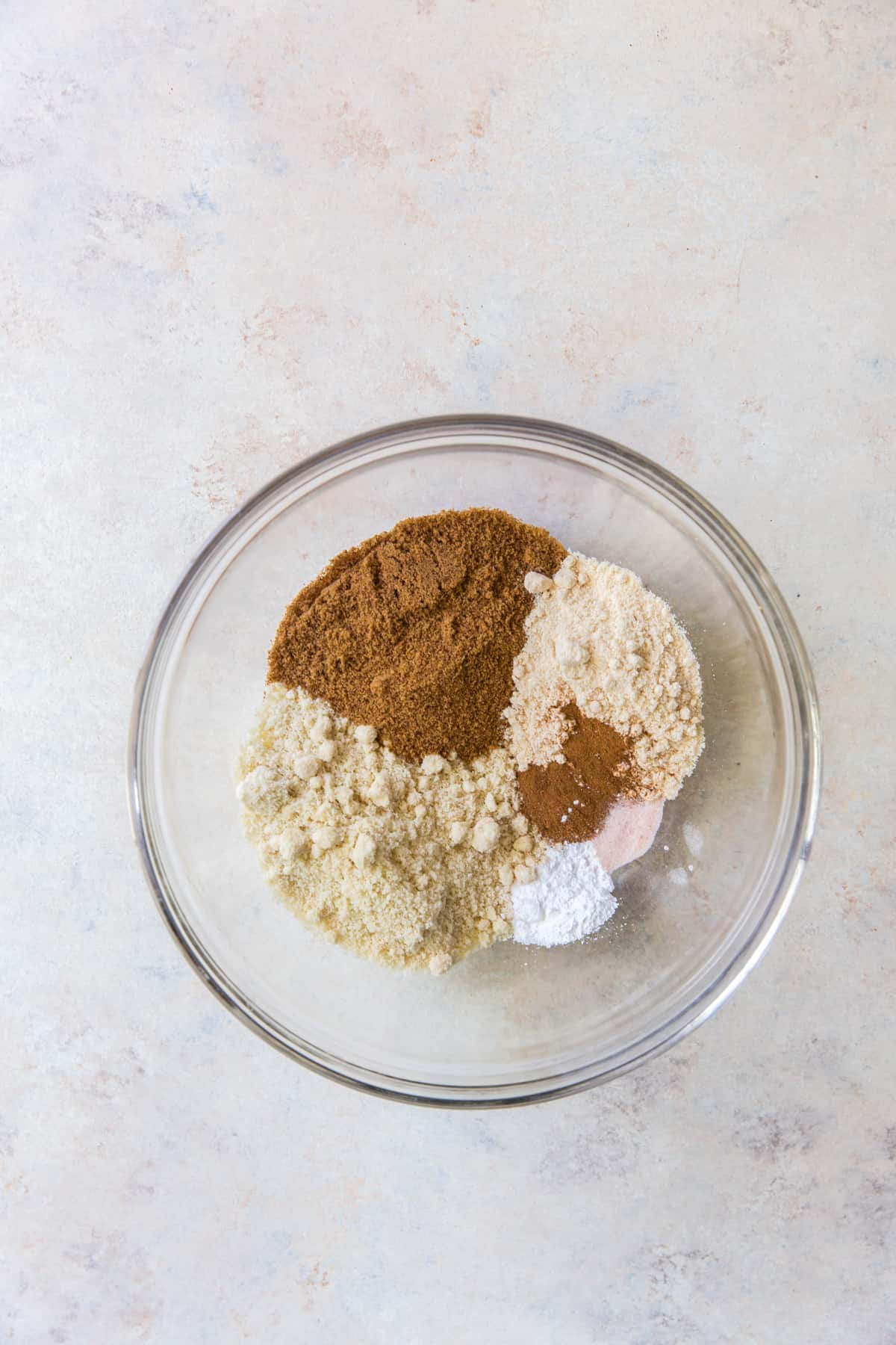 mixing dry ingredients together for paleo chocolate chip cookies