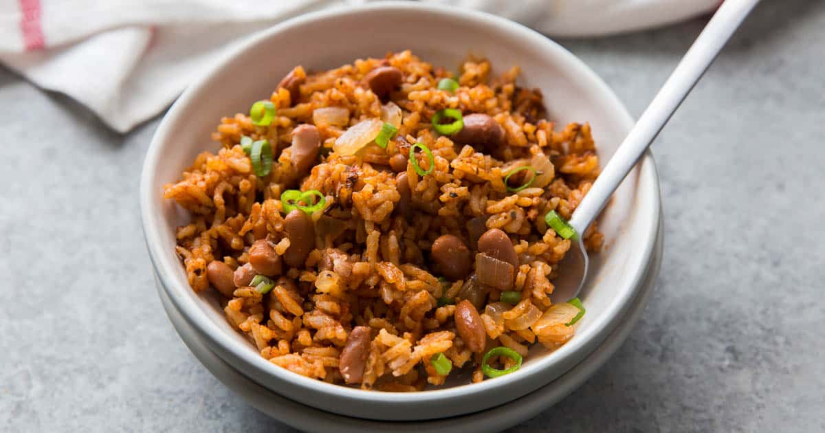 Low Sodium Spanish Rice And Beans Wholesome Made Easy